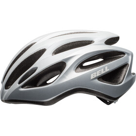 Bell Draft Casco, white/silver